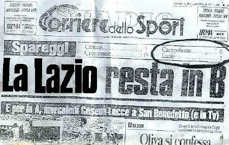 SS Lazio 3-2 AS Roma ( 29 ème journée ) - Page 2 LASTORIANONSIDIMENTICA
