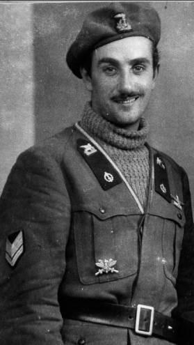 Altro ritratto di allievo ufficiale della divisione