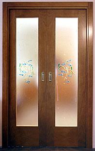 Vetri Per Porte Interne Classiche.Vetri Decorati Per Porte Interne Casa