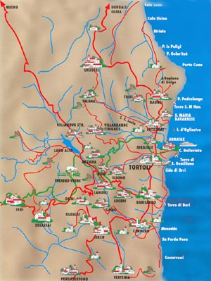 Arbatax Sardegna Cartina.Residence Verde Mare Sardegna Tortoli Arbatax