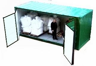 Container per fusti container per vernici for Box in lamiera usati