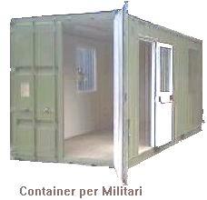 Container Box Waldem Produzione Vendita Noleggio monoblocchi abitativi , wc chimici, monoblocchi ...