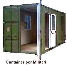 Container officina container per militari for Container ufficio usati