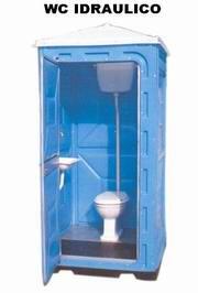 WC Chimici, WC mobili, WC in plastica resina, WC mobili