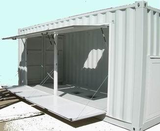 Container shelter speciali waldem container box - Pistoni a gas per ante cucina ...