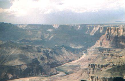 Stati uniti agosto 1999 for Grand canyon north rim mappa della cabina